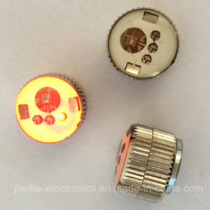 Good Quality Flashing Light Badges with Logo Printed (3161) pictures & photos