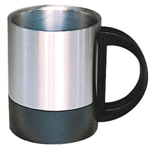 SUS 304 Stainless Steel Double Wall Mug Sdc-220b pictures & photos