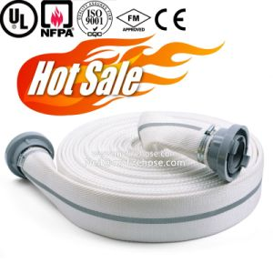 Double Jacket Canvas Fire Sprinkler Flexible Hose PU Pipe pictures & photos