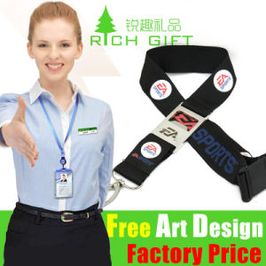 Custom Printing/Printed/Polyester/Neck/Nylon/Woven/Heat Transfer/Strap/Mobile Phone Lanyard with Logo pictures & photos