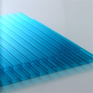 High Quality Blue Polycarbonate Sheet 10mm pictures & photos