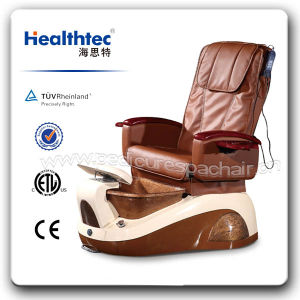 Salon Nail Manicure and Pedicure Chair with Drain Pump (B301-1802) pictures & photos