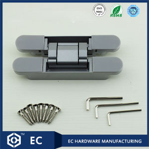 Zinc Alloy 3D Adjustable Concealed Hinge for Flush Doors (G120) pictures & photos