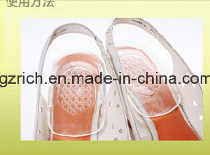 Fashion Silicone Gel Heel Cup Insole pictures & photos