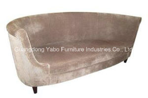 European Style Hotel Lobby Sofa with Fabric or Leather pictures & photos