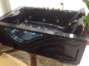 with TV Double Air Bubble Bath Massage Bathtub Jacuzzi (5211) pictures & photos