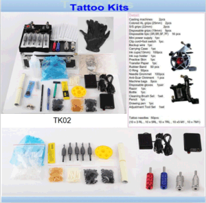 Professoinal 2 Tattoo Machines Gun Tattoo Kits Sale for The Artist pictures & photos