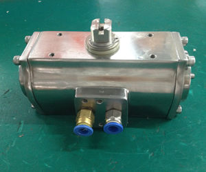 Stainless Steel Pneumatic Actuator with Ss316 pictures & photos