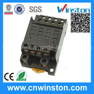 14 Pin Connecting Electric Contact Relay Socket with CE pictures & photos