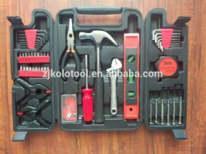 China Supplier Wholesale 148PCS Hard Plastic Tool Case Hand Tool Kit pictures & photos