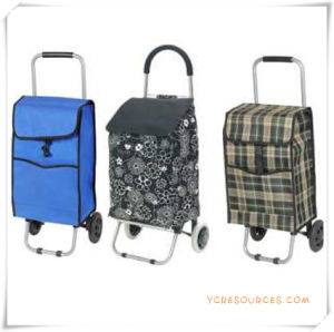 Two Wheels Shopping Trolley Bag for Promotional Gifts (HA82018) pictures & photos