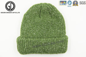Popular Custom Jacquard 100% Acrylic Knitted Beanie Hat pictures & photos