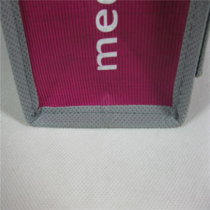 Non Woven Shoulder Bag, with Custom Design/Size and Logo Imprint (MECO134) pictures & photos