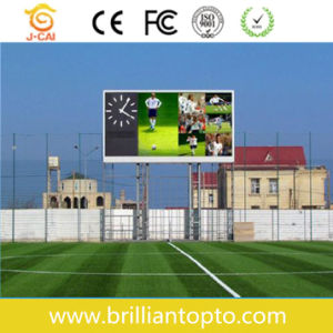 Full Color LED Advertising Board for Soccer Stadium (P12) pictures & photos