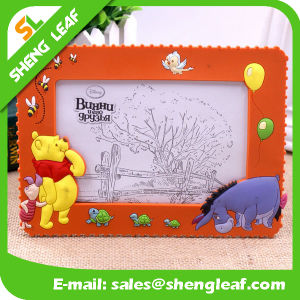Hot Sale Colorful Rubber Photo Frame (SLF-PF070) pictures & photos