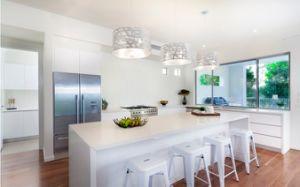 Pure White Quartz Kitchen Countertops Bathroom Vanity Tops Worktops Island Tops pictures & photos