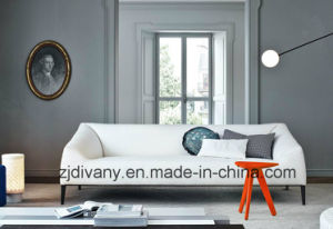 Diavny Furniture Modern Leather Fabric Sofa Set (D-76-C) pictures & photos