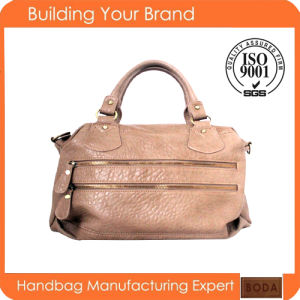 2017 Promotional Women PU Popular Hand Bags (BDM173) pictures & photos