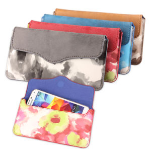Universal Soft PU Smart Phone, Mobile Phone Pouch for Many Different Models