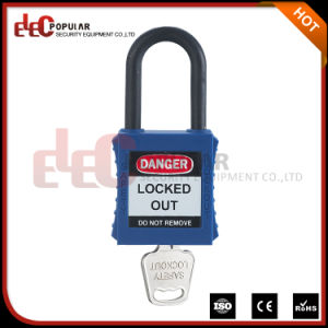 Nylon Shackle Keyed Alike One and Half Inch Safety Padlock pictures & photos