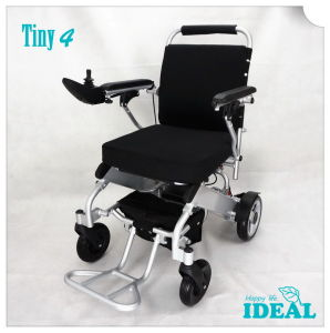 Tiny 4 Folding Electric Wheelchair pictures & photos
