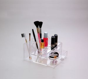 Customize All Kinds of Acrylic Makeup Organizer, Cosmetic Organizer, Acrylic Makeup Storage, Makeup Brush Holder, Lipstick Holder pictures & photos