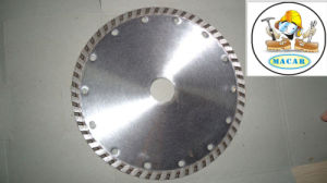Turbo Wave, Diamond Cutting Tool Midstar Ceramic Tiles Saw Blade pictures & photos