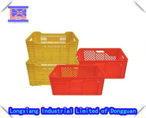 PP Plastic Basket Injection Mould pictures & photos