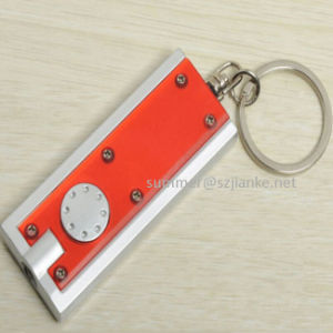 LED Flashing Keychain with Logo Print (3672) pictures & photos