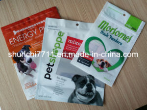 Sizes of Stand up Zipper Pet Food Bag pictures & photos