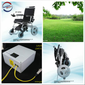 Electric Wheelchair, Foldable, Light Weight pictures & photos