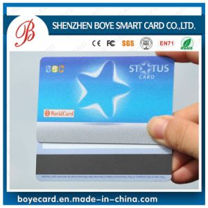 Silkscreen Glossy Magnetic Chip Card with Silk Background pictures & photos