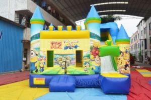 Minions Inflatable Bouncer Combo Chb590 pictures & photos