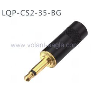 3.5 mm Mono Plug Headphone Cable Connector Plug CS2-35-Bg pictures & photos