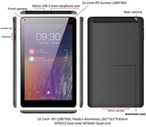 10.1inch IPS 3G Tablet PC pictures & photos