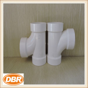 2 Inch Size PVC Fitting Sanitary Tee pictures & photos