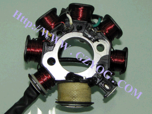 Motorcycle Spare Parts Stator Comp (8 coils) for Cg-125 pictures & photos