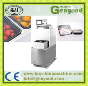 Vacuum Gas Flushing Tray Sealing Machine for Food Industry pictures & photos