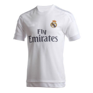 Thailand Quality New 2015-16 Real Madrid Home Soccer Jersey pictures & photos