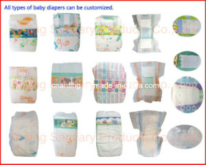 Released Paper Raw Materials for Manufacturing The Sanitary Napkins & Baby Diapers pictures & photos