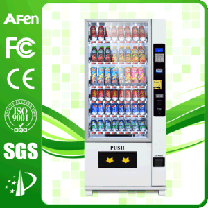 LCD Display Vertical Stand Cold Drink Beverage & Snack Vending Machine pictures & photos