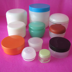 HDPE Pet PE PETG PP Cosmetic Cream Jar pictures & photos