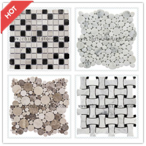 Honed or Polished Marble Mosaic for Wall and Floor Tile pictures & photos