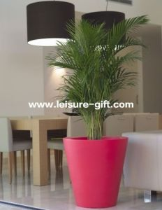 Fo-300 Round Hotel Decorative Fiberglass Planter pictures & photos