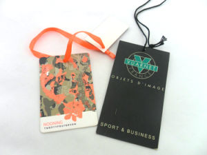 High Quality Custom Design String Paper Hang Tag pictures & photos