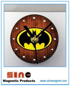 Fashion Creative Perspective Batman Fridge Magnetic Clock pictures & photos