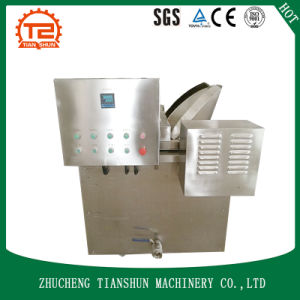 Semi-Automatic Gas Heating Potato Chips Fryer Machine pictures & photos