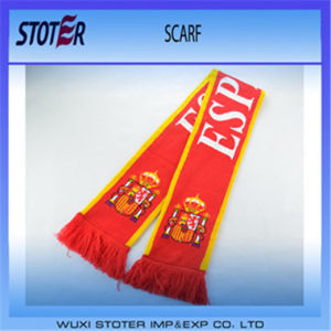 Knitted Jacquard Football Soccer Fans Sport Scarves