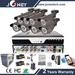 Waterproof Outdoor HD1080p 8CH Ahd CCTV Camera DVR Kit pictures & photos