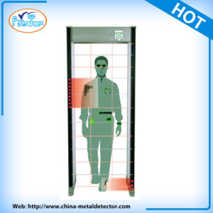 33 Zone Security Detection Door Frame Walk Through Metal Detector pictures & photos